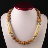Collier ethnique gorgone tigre